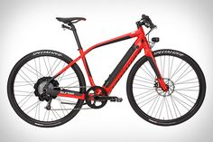 Wow. Specialized's Turbo Bike can go 28mph powered by its electric motor and only 2 hour charge time!  I want this.