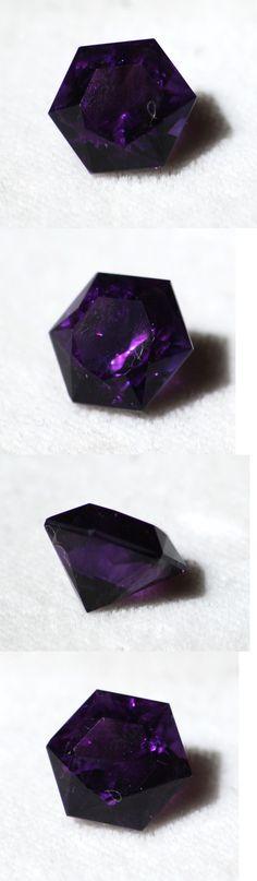 Amethyst 10192: Usa Cut Fine Amethyst 3.66 Ct Hexagon -> BUY IT NOW ONLY: $49.99 on eBay!