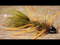 Woolly bugger rubber legs fly tying instructions by Ruben Martin - YouTube