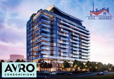 Avro Condos is the sign of standardized living in Toronto. These condos are luxurious and graceful, located at the beautiful place of Toronto city. They also contain basic amenities to make your life more comfortable not just that the modern structure of these condos also show its status. Still thinking? Follow the link and register today before its late.     #AvroCondos