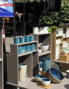 2015 Argilla.Aubagne. France. International pottery fair. Tableware. Deco. Art. Jewels. Earthenware. Stoneware. Raku. Porcelain. Sigillated clay. Smoked clay. Copyright: Laurence Ricciardi