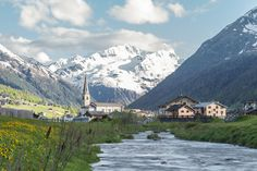 Village in the Italian Alps by Andrea F.  on 500px