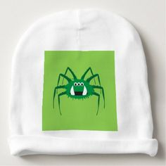 #cute #baby #beanies #babybeanies - #Itsy Bitsy Spider Norman Baby Beanie