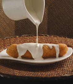 Puritos de plátano macho rellenos | Cocina y Comparte | Recetas de  MARIA LUISA LARA MARTINEZ