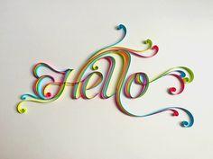 pretty paper typography by sabeena karnik
