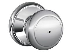 Schlage F40-AND Andover Privacy Door Knob Set from the F-Series