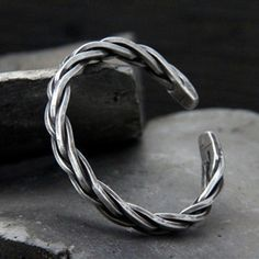 Mens silver jewelry - Men's Sterling Silver Thick String Braided Cuff Bracelet – Mens silver jewelry Chunky Silver Necklace, Mens Silver Jewelry, Mens Silver Rings, Sterling Silver Cuff Bracelet, Men's Jewelry, Layered Necklace, Leather Jewelry, Diamond Jewelry, Jewelery