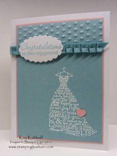 Engaged! by Speedystamper - Cards and Paper Crafts at Splitcoaststampers