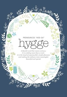 I dont know what Hygge suddenly became popular this winter ( or at least that's when it hit my radar) but I'm so glad it did.