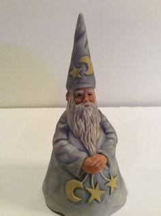 Wizard Music Figurine Collectible Enesco 1982 Faith Wick Sorcerer - Celestial  | eBay
