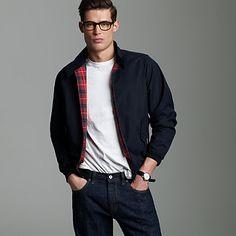 Baracuta® G9 slim-fit Harrington jacket