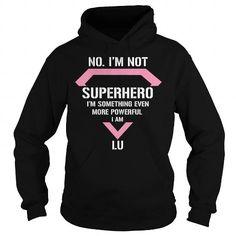 Awesome Tee LU Not superhero i am LU legend Shirts Shirts & Tees