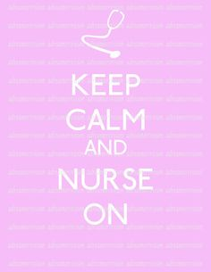 Great thing to remember on those days where you're running around for 12 hours wondering why you thought becoming a nurse was such a great idea!
