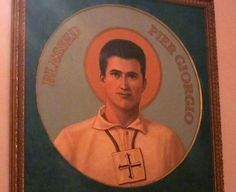 Pier Giorgio became a Dominican tertiary in 1922; three years later, he fell ill and took to his bed. By the time his parents discovered how ill he was, it was too late. On July 4, 1925, Pier Giorgio died of polio, probably contracted during one of his visits to the poor. He died peacefully, rosary in hand and the life of Saint Catherine of Siena at his side; and his last concerns were for two of his friends among the poor, for whom he had unfinished errands. He was 24 years of age. - See…