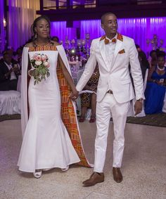 African wedding outfits, African wedding suits, African groom's suit, African bride's dress, African - Modern African Wedding Attire, African Attire, African Wear, African Women, African Print Dresses, African Fashion Dresses, African Dress, African Traditional Wedding, Traditional Wedding Dresses