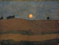 Paula Modersohn-Becker-Mond über Landschaft