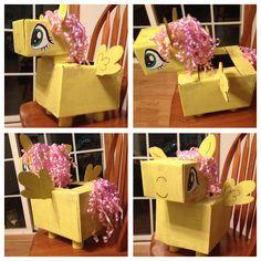 Our Fluttershy Valentine box!! #mylittleponies #fluttershy