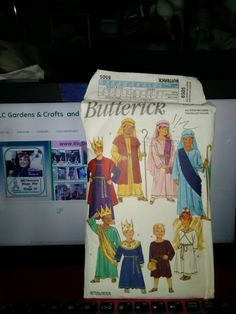Butterick Pattern 6505 All Sizes (xs to 14) Nativity Character costumes
