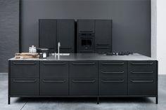 industrial vintage kitchen
