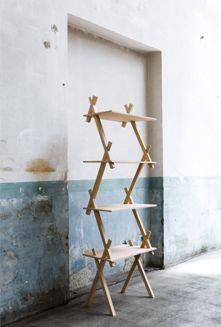 Japon / Hiroyuki Ikeuchi   via.fr Paris Design, Art Moderne, Indoor Outdoor Living, Drafting Desk, Decoration, Ladder Decor, House Design, Inspiration, Furniture
