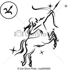 astrological signs sagittarius clipart - Google Search
