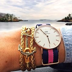 The Classic Winchester Lady by Daniel Wellington, perfectly paired with KJP! #danielwellington #watch #fashion #kjp #style #shopping