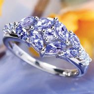 tanzanite is soooo cool...