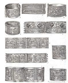 medieval Slavic Rus  bracelets