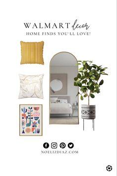Walmart Decor, Entry Foyer, Free Design, Accent Decor, Home Office, Mid Century, House Design, Furniture, Home Decor
