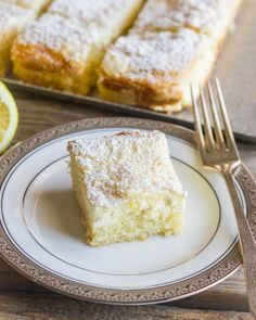 Looking for Fast & Easy Cake Recipes, Dessert Recipes! Recipechart has over free recipes for you to browse. Find more recipes like Greek Yogurt Cream Cheese Lemon Coffee Cake. Lemon Curd Dessert, Lemon Desserts, Lemon Recipes, Just Desserts, Sweet Recipes, Delicious Desserts, Cake Recipes, Dessert Recipes, Yummy Food