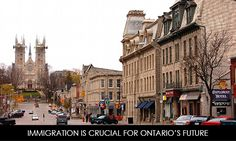 Immigration is Crucial for Ontario's Future   https://www.morevisas.com/immigration-news-article/immigration-is-crucial-for-ontario-s-future/4754/