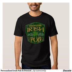 Personalized Irish Pub St Patrick's Day Shirts