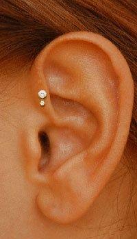 ear head piercings - i want this!