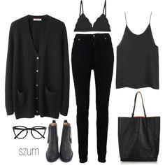All black. Always.