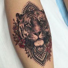 Tiger Mandala Tattoo