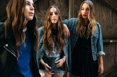 Danielle, Alana and Este Haim in Brooklyn.