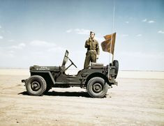 Willys MB Radio Jeep in action.