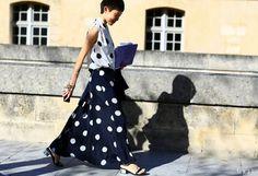 7 Ultra-Cool Ways To Wear Polka Dots via @WhoWhatWear