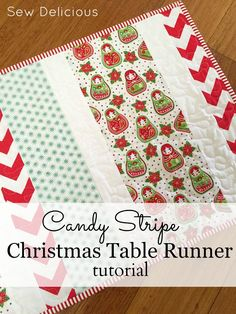 Christmas Patchwork, Christmas Placemats, Christmas Runner, Christmas Quilting, Quilted Table Runners Christmas, Christmas Tables, Christmas Sewing Projects, Easy Sewing Projects, Sewing Projects For Beginners