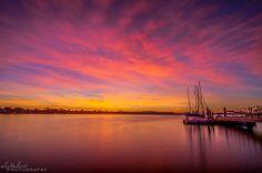 Alex Baltov Photography   -  Catamaran Resort Hotel and Spa,  Sunrise Sorbet on Mission Bay this morning