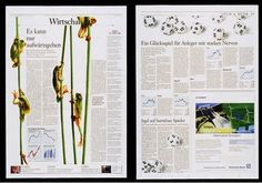 Excellent Newspaper Designs / it's not just because of the frogs. Well, maybe.