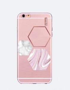 funda-movil-marmol-3 Pink, See Through, Mobile Cases, Roses