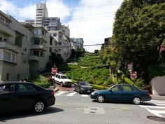 Anything Under the Sunrise: Visited the Lombard Crookedest Street in San Franc...