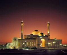 Al-Fateh Mosque, Bahrain - one of the largest mosques in the world