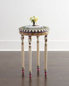 Summerhouse Accent Table by MacKenzie-Childs at Horchow.