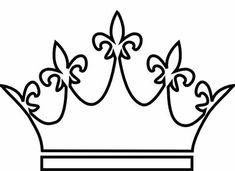 Crown Outline, Summer Crafts, Crafts For Kids, King And Queen Crowns, Crown Drawing, Outline Images, Mickey Mouse Ears, Art Sketchbook, Birthday Party Themes