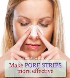 Pore strips never even come close to removing all of my blackheads The solution-plus-strip combo removed at least twice as many blackheads as a strip on its own. Seriously, you have to try this! | Beauty and MakeUp Tips