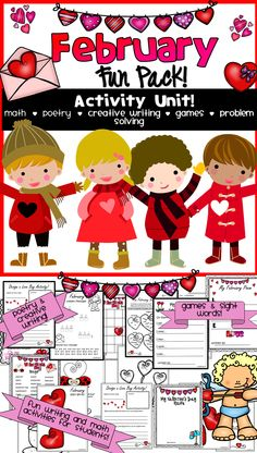 Valentine's Day Fun for students!