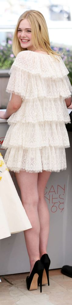 Elle Fanning in Chanel Fall 2016, The 69th Annual Cannes Film Festival