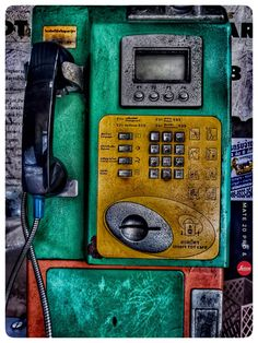 Vintage Box, Telephone, Landline Phone, Cards, Life, Phone, Maps, Playing Cards